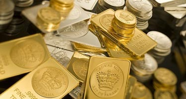 gold, silver & platinum bullion